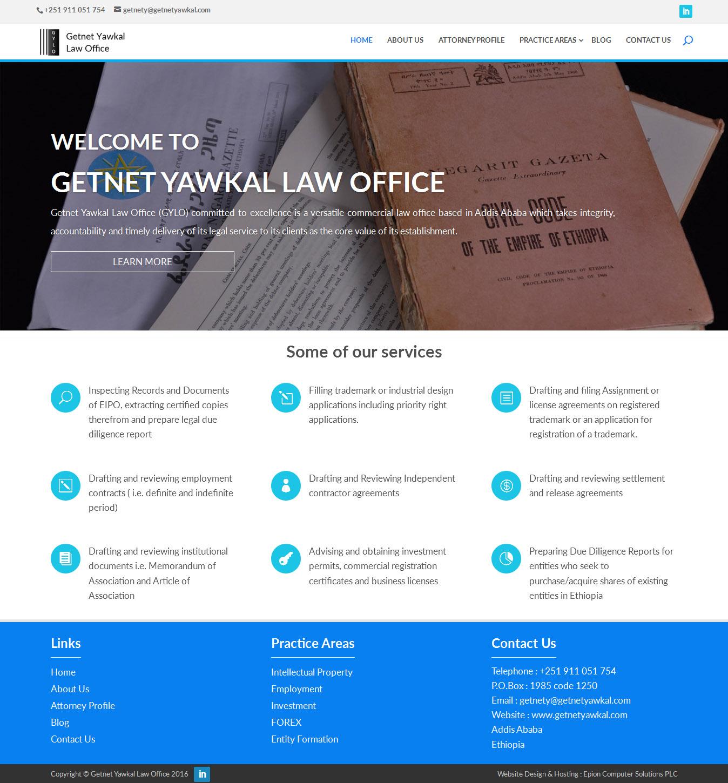Getnet Yawkal Law Office - Epion Computer Solutions